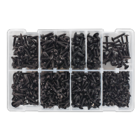 Self Tapping Screw Assortment 700pc Flanged Head BS 4174.  AB066STBK